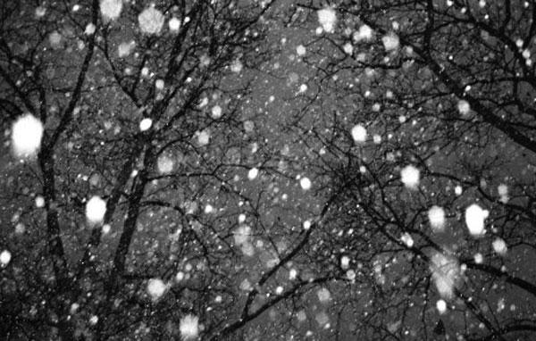 Snow…again