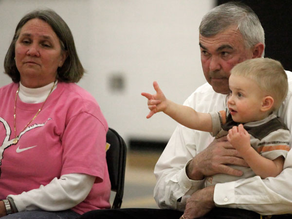 Bittersweet moment for Alan Cantrell, Floyd County