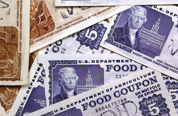 One Floyd family in eight on food stamps