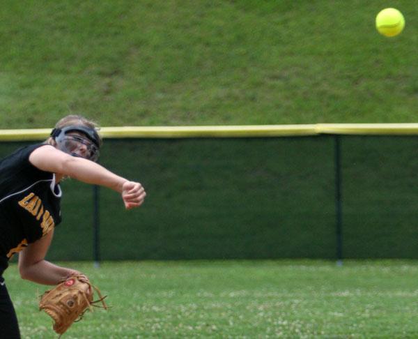 Softball shutout in regionals