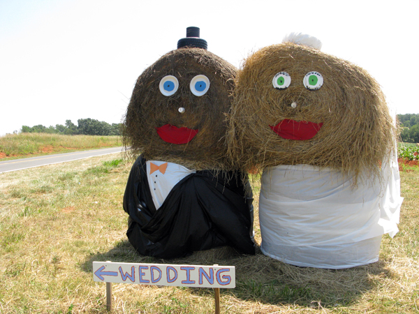 Making weddings out of hay