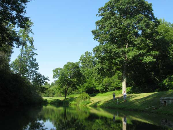 Rakes Mill Pond and solitude