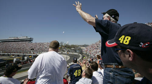 Are the cheers fading for NASCAR?