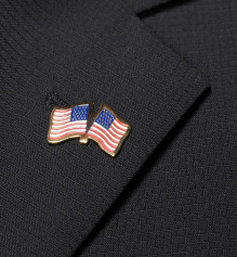 Wearing a flag lapel pin does not make one a patriot
