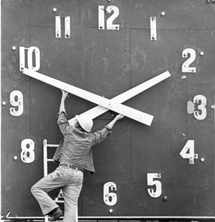 Time to Spring ahead for Daylight Savings Time