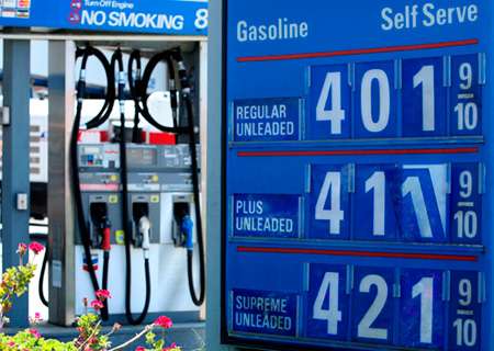 Pain at the gas pump
