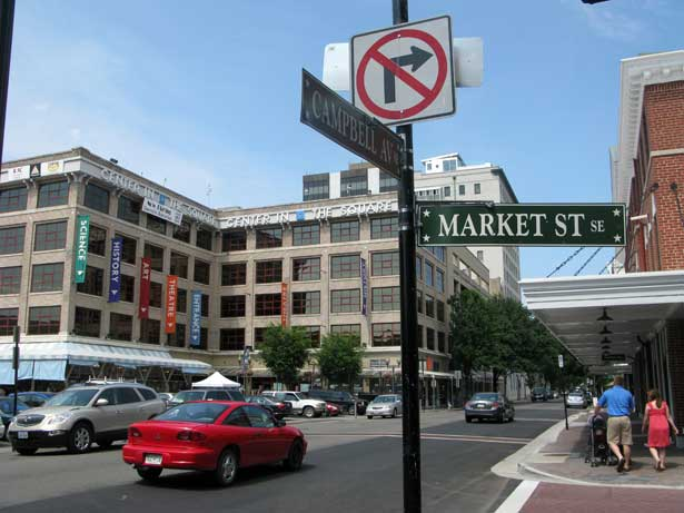 Roanoke's Market Street: A far cry from the old days