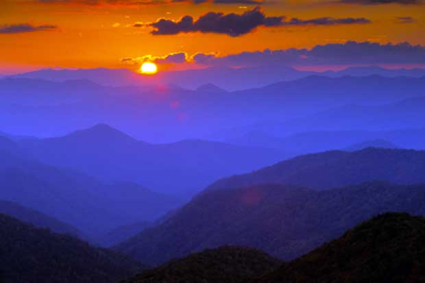 Sunset for the Blue Ridge Parkway?