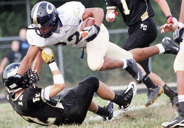 Christiansburg steamrolls Floyd County 49-0