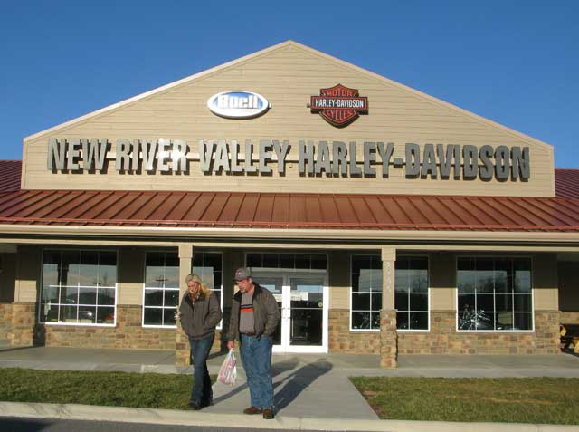 New River Valley Harley-Davidson ceases operations Dec. 31
