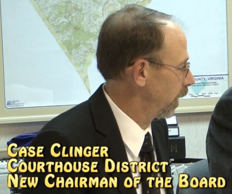 Supervisors name Clinger as new chairman, Allen as vice chair