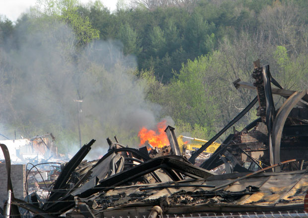 Bassett Furniture's fire destroyed more than just a building