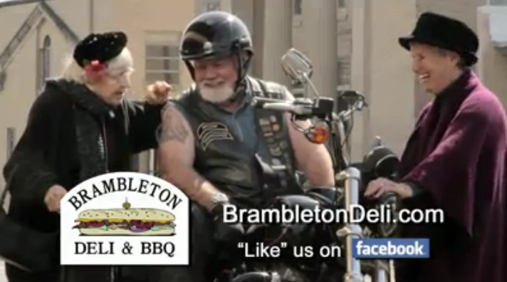 Old bikers never die: They just do TV commercials