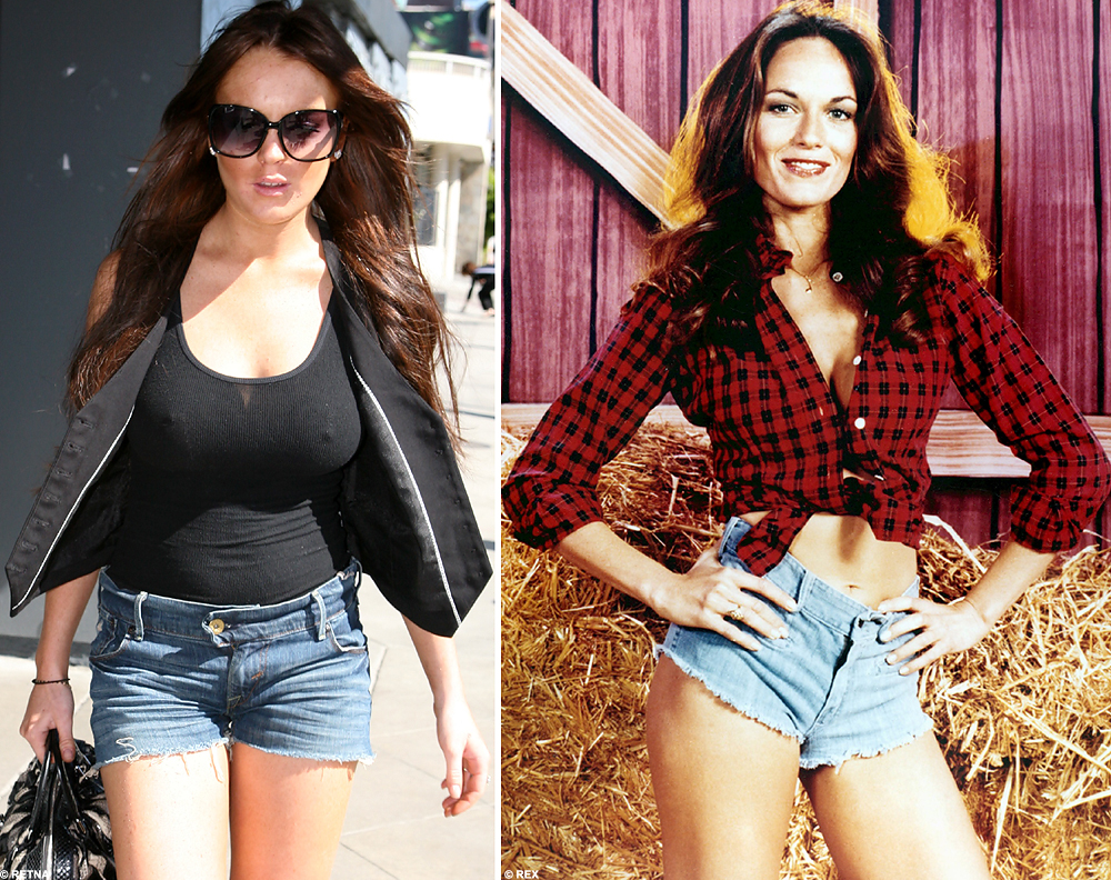 Daisy Duke lives on in our hearts and…er…minds