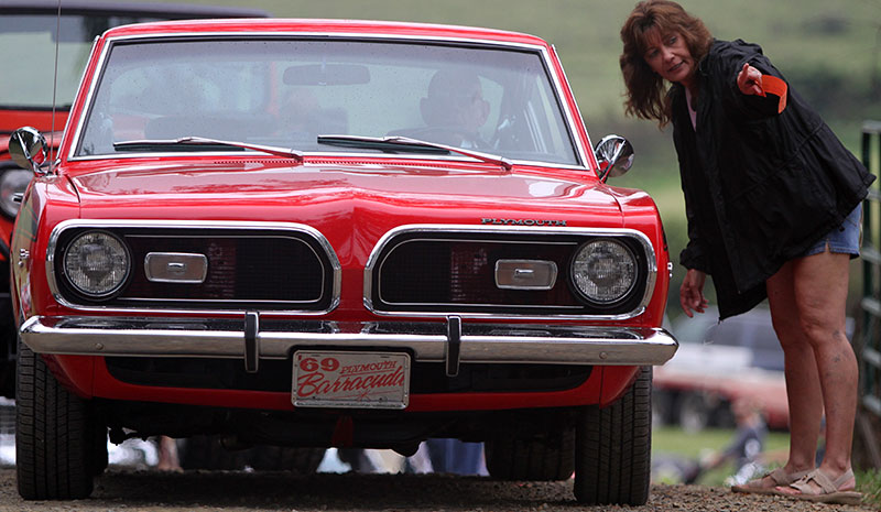 An annoying mist couldn't dampen the enthusiasm for the Chantilly Farm Auto Fair