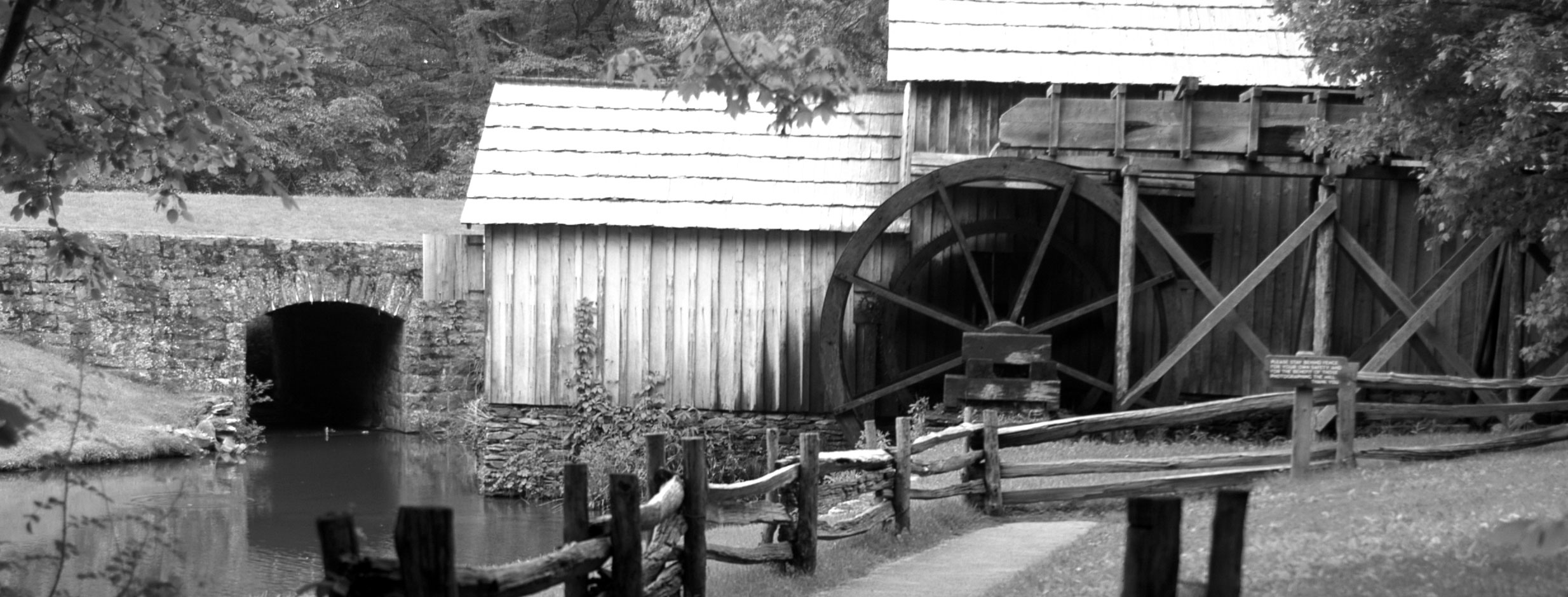 Places of Floyd: Mabry Mill