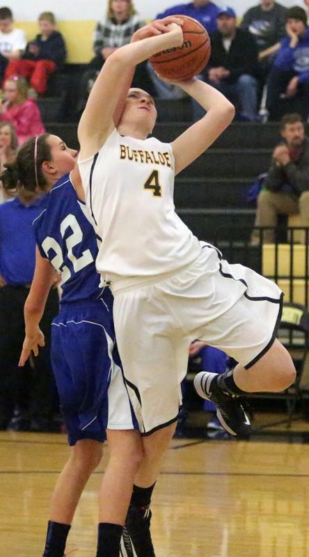 Lady Buffs meet George Mason in state girls' basketball semi-final next Friday