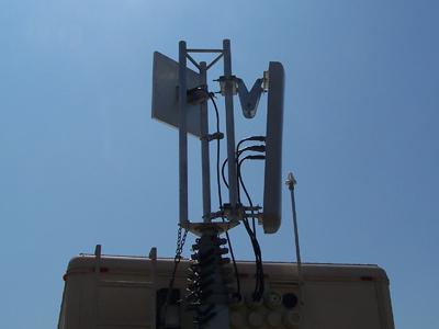 Wireless phone service at FloydFest?  How now Verizon COW