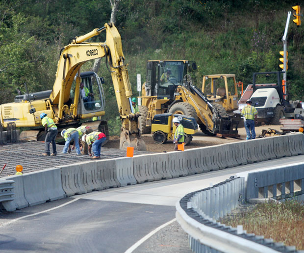Completion of new bridge expected in October