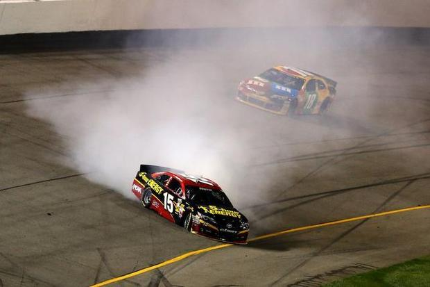 "NASCAR: As phony as ""pro"" wrestling"
