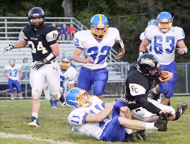 A long night and a loss for the football Buffaloes