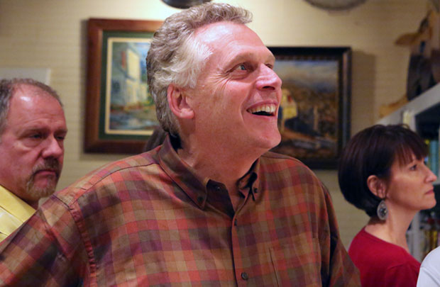 New poll shows McAuliffe with a 17 point lead in governor's race