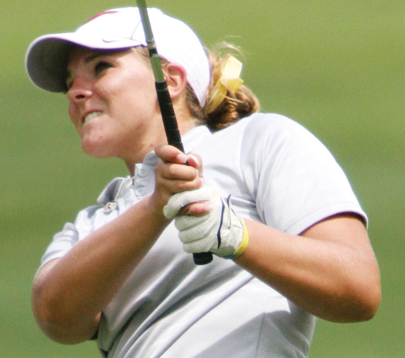 Hollandsworth captures state golfing crown