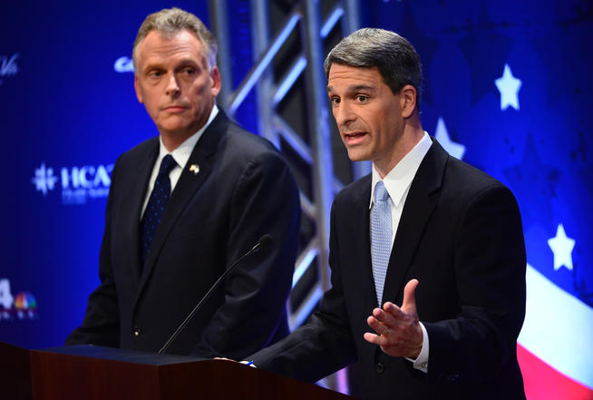 Virginia governor's race: Tea party extremism vs. Obamacare