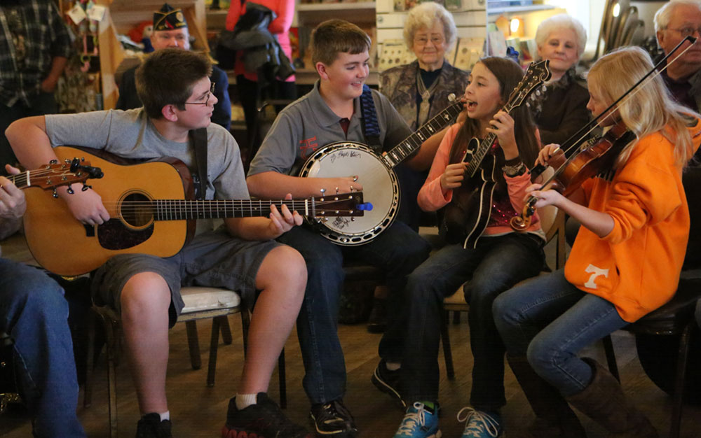 When music brings young and old together