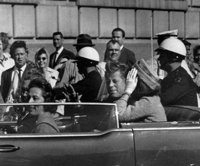 The day President John F. Kennedy was assassinated