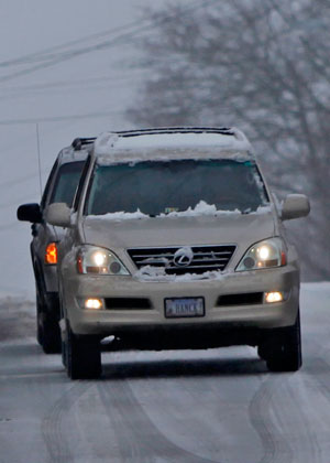 VDOT says 'stay home'
