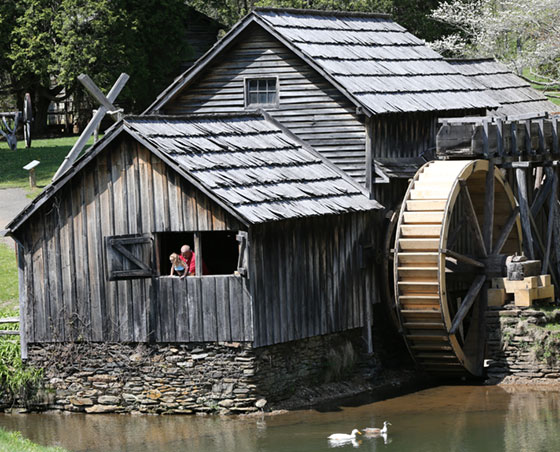 Mabry Mill open & ready for summer