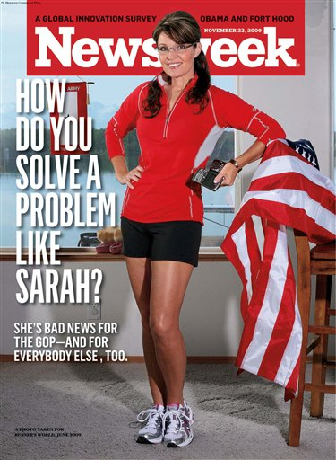 Sarah Palin and the sad, inane fanatics who follow her