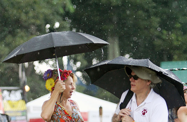 Rain didn't dampen FloydFest 13 spirits