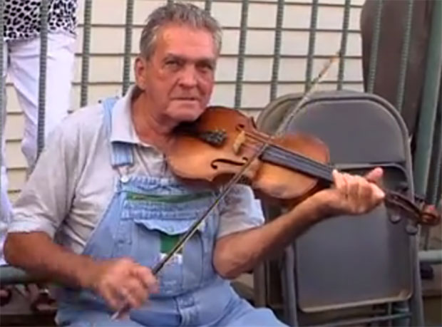 Music and fiddler Clyde Williams