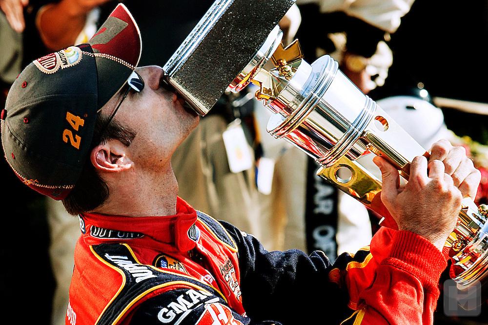 Gordon still winning Brickyard 400s