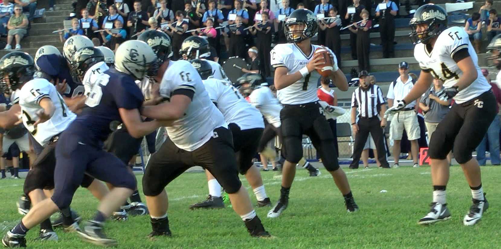 Buffaloes fall in opener