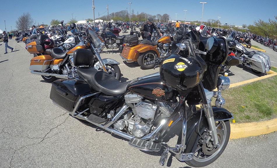 As you bike it at the Blue Ridge Bike Fest