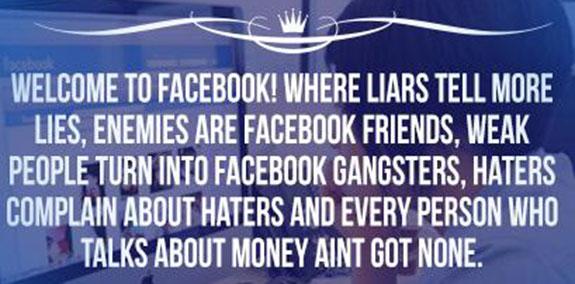 Lies, damn lies…and Facebook