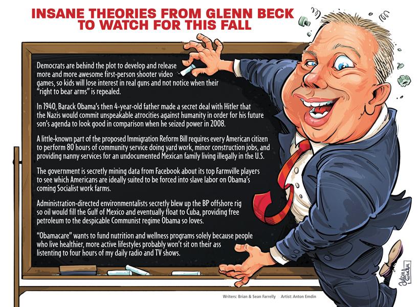 Glenn Beck: Leader of America's real enemies