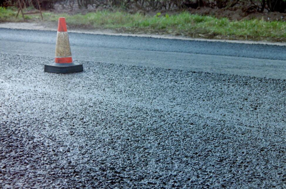 A 'slurry' mess on Floyd's roads