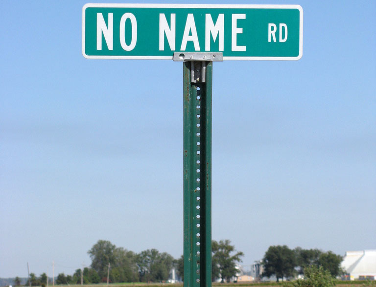 Trouble in Floyd's 'no names' land