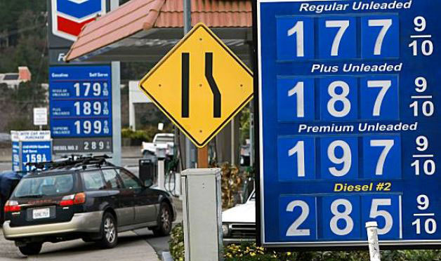 In gas, the price is not always right