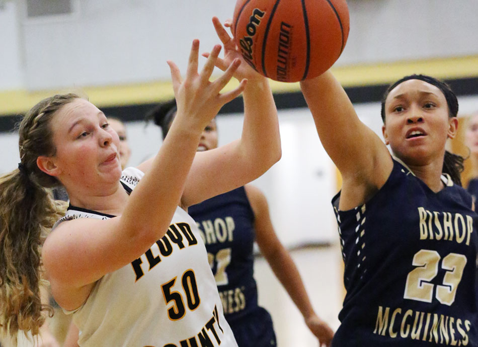 Lady Buffs over Bishop McGuiness