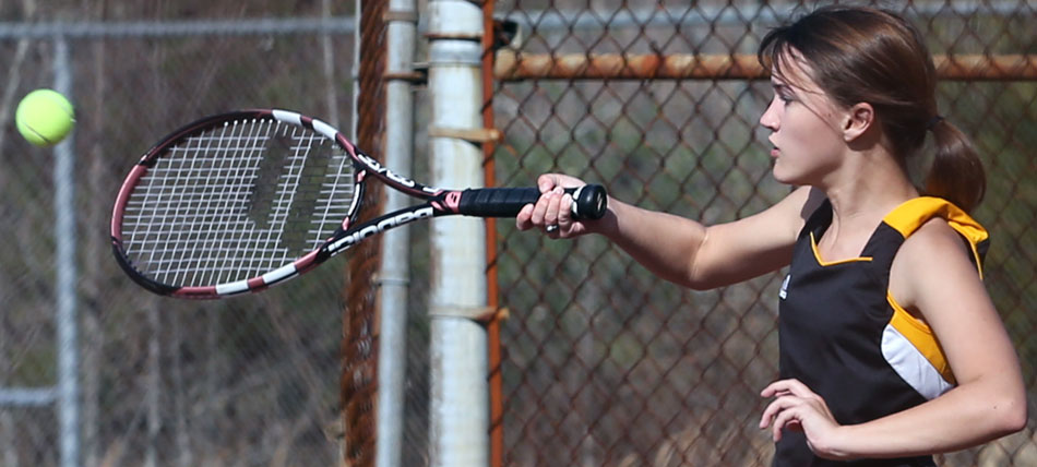 High school tennis hits the courts