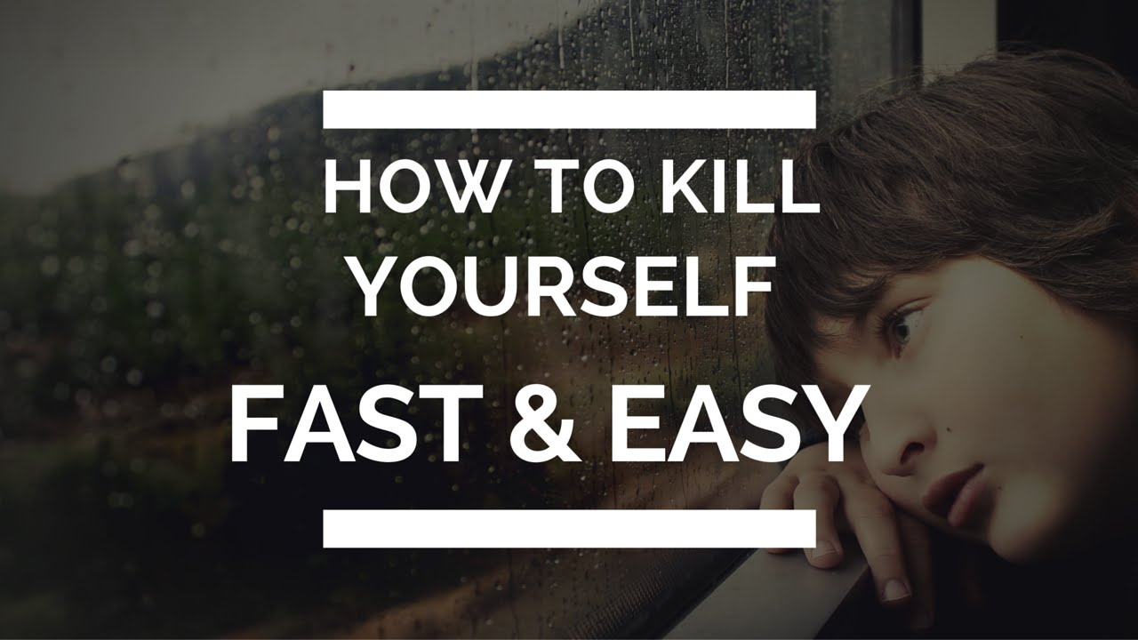 how to kill yourself peacefully
