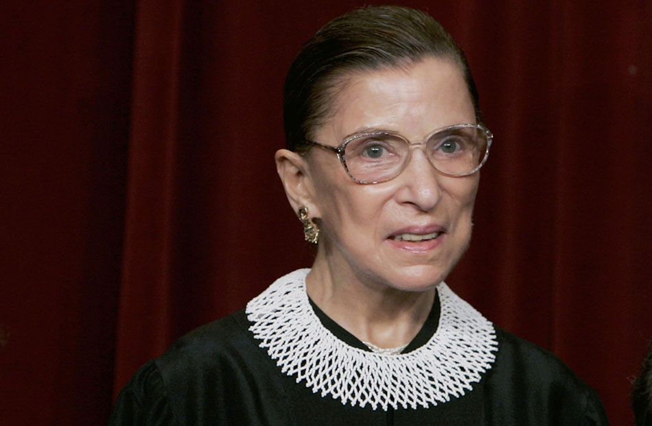 Justice Ginsburg's necessary verdict on Trump