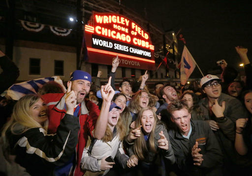 Joy in Mudville…er, Chicago