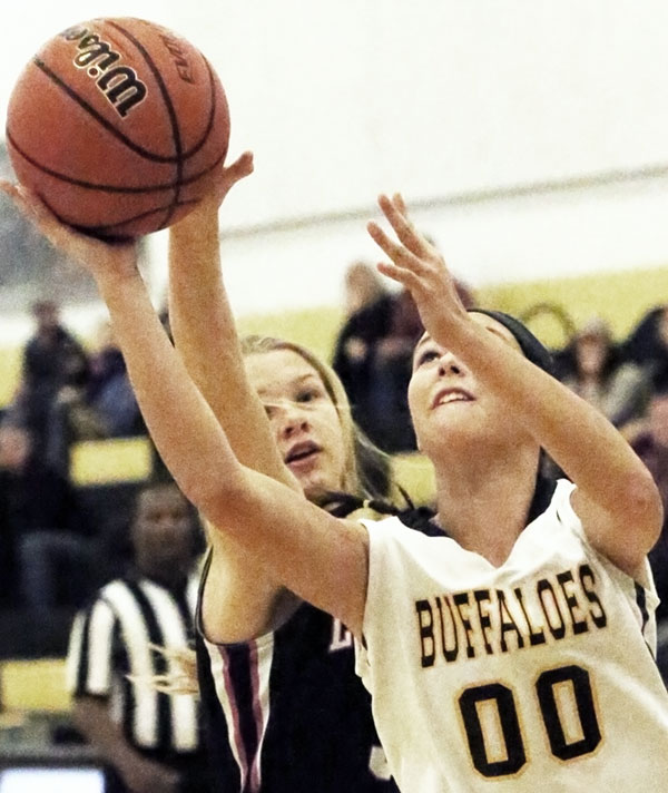 JV Lady Buffs beat Carroll County