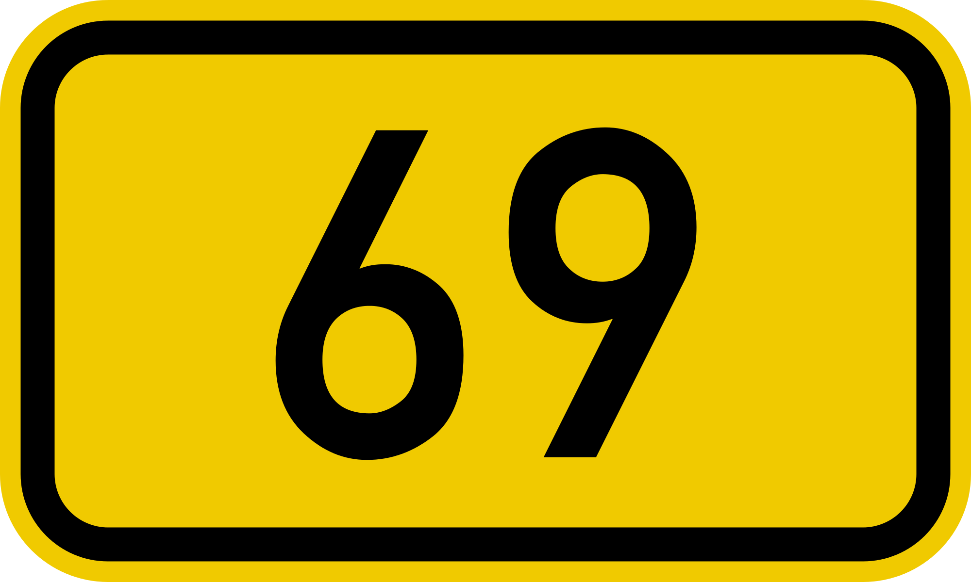 Yes, 69 is divine